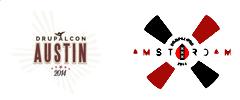 DrupalCon logos