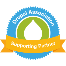 Drupal Association Supporting Partner badge