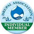 Drupal Association Individual Member Badge