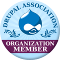 Salmar Consulting is a Drupal Association Member